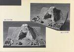 GFA 11/511014-511015: Modell (Quiqueroz) eines Rennofen römische-Mittelalterliche Zeit