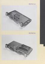 GFA 11/530534-530535: Anschnitt-Technik Nähmaschinen-Grundplatte