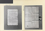GFA 11/530599-530600: Urkunden aus Bauarchiv des Klosterguts Paradies