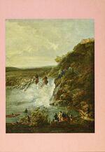 GFA 11/601311: Profilansicht Rheinfall, Gemälde von Johann Jakob Schalch