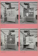 GFA 11/660436-660439: Serto-Ausstellungsstand für Hannover-Messe