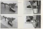 GFA 11/670694-670697: Bahnkupplung, Holzmodell des Kupplungskopfes