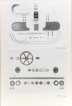 GFA 11/671355-671356: Ersatzteile, Webmaschine DSL