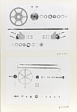 GFA 11/671417-671418: Ersatzteile, Webmaschine DSL