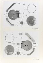 GFA 11/671437-671438: Ersatzteile, Webmaschine DSL