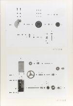 GFA 11/671506-671507: Ersatzteile, Webmaschine DSL