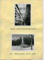 GFA 13/66.11: Montreux, Vordach; Sion, Denkmaleinfassung