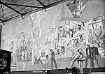 GFA 16/39537: National exhibition 1939 in Zurich, wall painting Morach at the GF stand