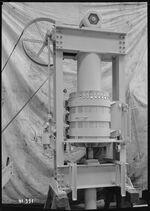 GFA 17/41331: Pressing machinery, hydraulic vacuum basket press