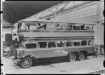 GFA 17/471319: Fiat double-decker bus with Simplex wheels, Turin around 1932-1936