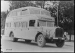GFA 17/471328: Saurer travel bus with Simplex wheels, around 1928-1930