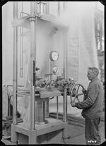 GFA 17/48419: Pressing machinery, dry ice press