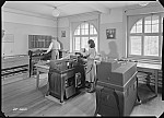 GFA 17/490370: Hollerith department: accounting machines with punch cards