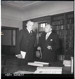 GFA 17/520677: Iron Library, inauguration ceremony