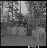 GFA 17/570809.1: Klostergut Paradies, visitors from the ironworks institute of the University Leoben