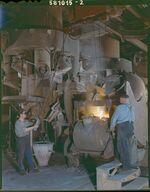 GFA 17/581015.2: Tapping on cupola furnace