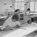 GFA 17/630077.4: Photo reportage: training course for draftswomen