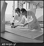 GFA 17/630077.9: Photo reportage: training course for draftswomen