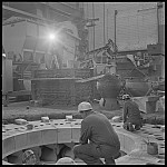 GFA 17/661330.7: Reportage: industrial photographer Max Graf at work