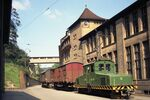 GFA 17/720846.4: GF company railroad in front of plant III in Mühlental