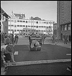 GFA 17/7385.13: Road construction with grey cast iron floor covering