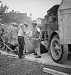 GFA 17/7385.5: Road construction with grey cast iron floor covering