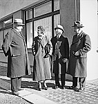 GFA 17/7578: Visit of Mr. and Mrs. Worrilow from the USA with Mr. president Homberger and Mr. director Müller