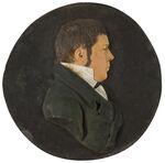 GFA 1/155.78: Wachsrelief Johann Conrad Fischer