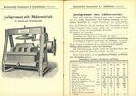 GFA 1/2294: Landwirtschaftsmaschinen, Keltereimaschinen, Mühlen-, Walzenstuhlbau, Geschäftsbeziehung zu Fa. Daverio