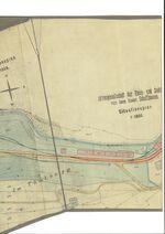 GFA 1/2461.1: Werkbahn Geleiseplan Werk I bis IV, 1:1000, Herrn Stamm