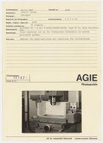 GFA 42/13107: AGIETRON BL-h with 2 AGIE-POWER-UNITS