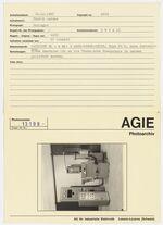 GFA 42/13109: AGIETRON BL-h with 2 AGIE-POWER-UNITS