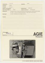 GFA 42/19022: AGIE-ROTOFORM