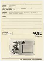 GFA 42/22009: AGIECUT