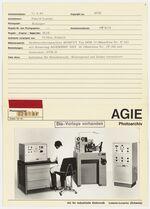 GFA 42/22019: AGIECUT with AGIEMERIC control and STM-D generator