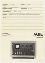 GFA 42/30019: AGIETRON RCT-Generator 0,5 FS