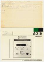GFA 42/31272: AGIEPULS Generator 65 L