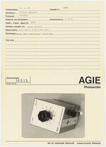 GFA 42/36035: Additional device AGIE-S-Box