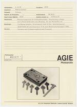 GFA 42/40221: Hot press die for lock fittings