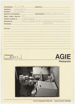 GFA 42/85011: AGIE-Desintegrator XB 2