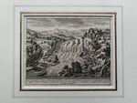 """GFKS 3/4: """"Vue de la grande Chûte ou Cataracte du Rhin proche de Lauffen"""", aus: """"Etat et Délices de la Suisse"""""""