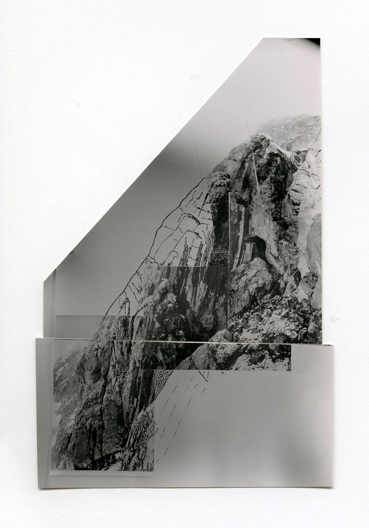 EBA 2/321.13: Landschaftsaufnahmen Gonzen aussen, Collage