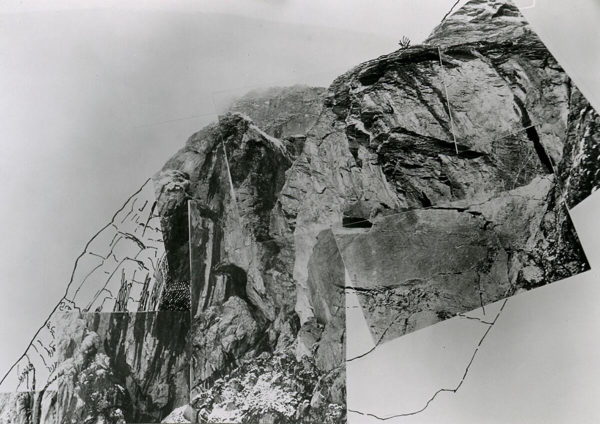 EBA 2/321.14: Landschaftsaufnahmen Gonzen aussen, Collage