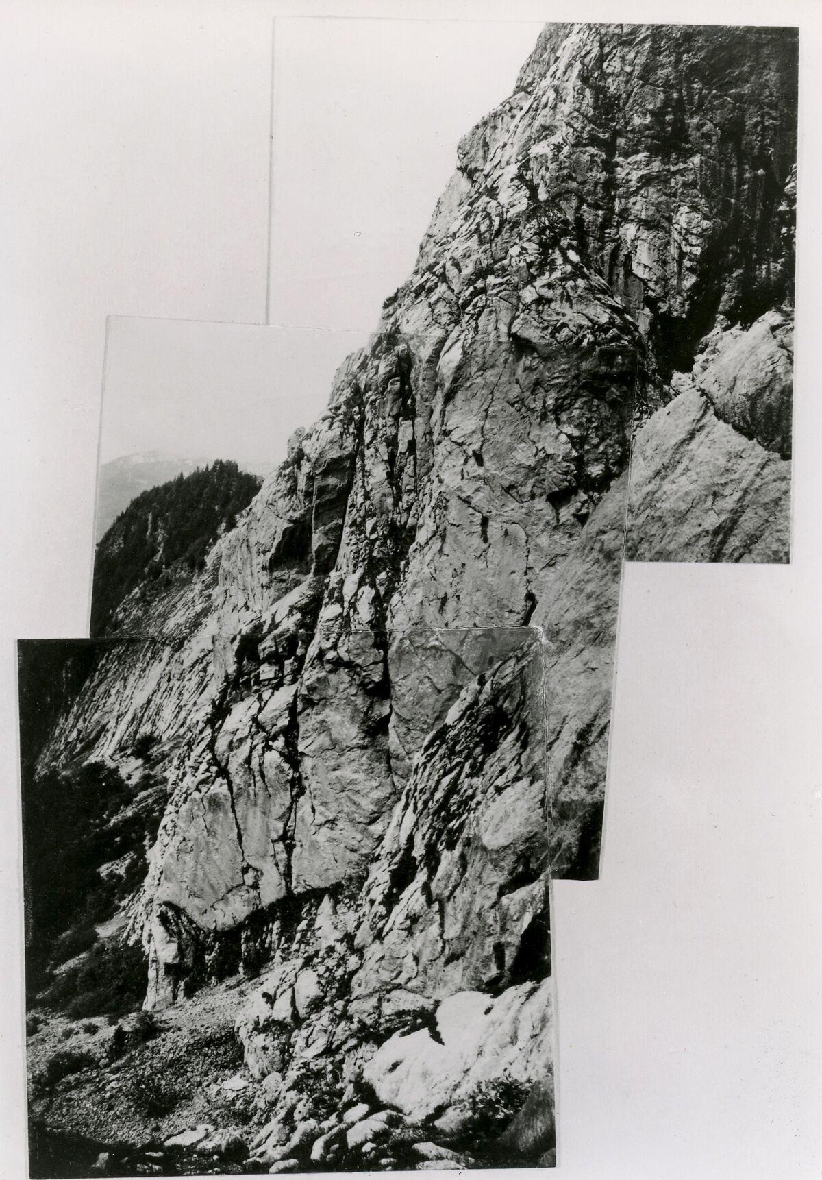 EBA 2/321.15: Landschaftsaufnahmen Gonzen aussen, Collage
