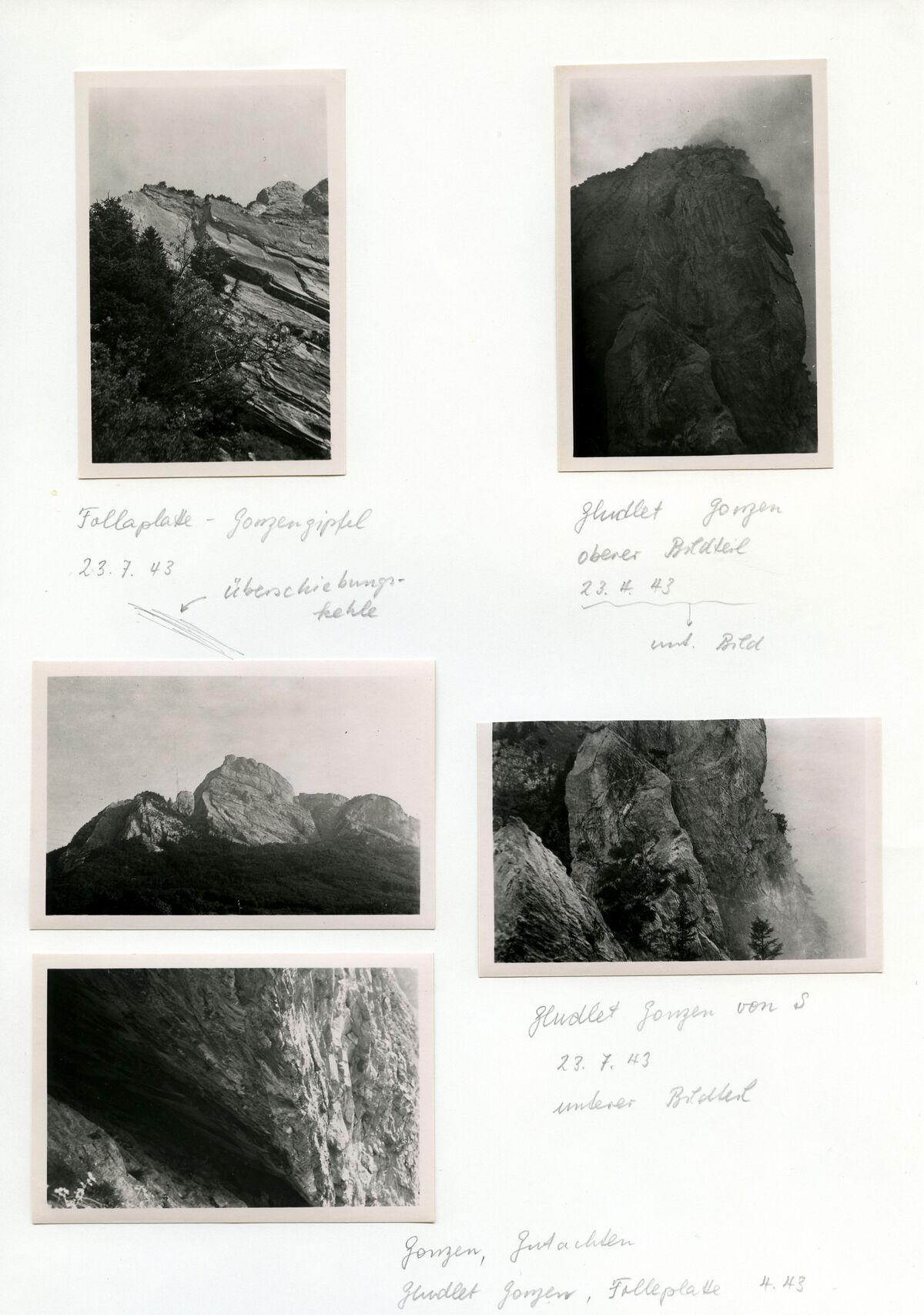 EBA 2/321.19: Landschaftsaufnahmen Gonzen aussen