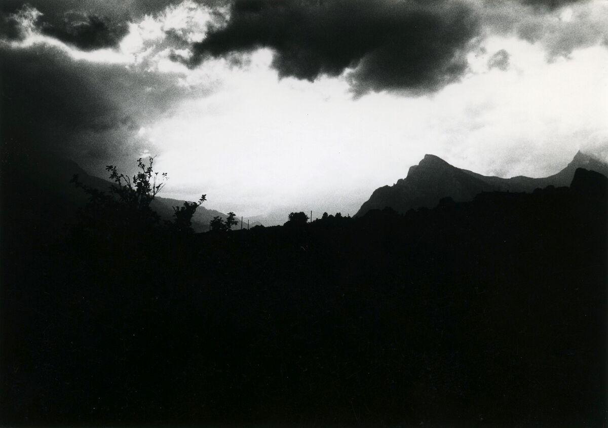 EBA 2/321.25: Landschaftsaufnahmen Gonzen aussen