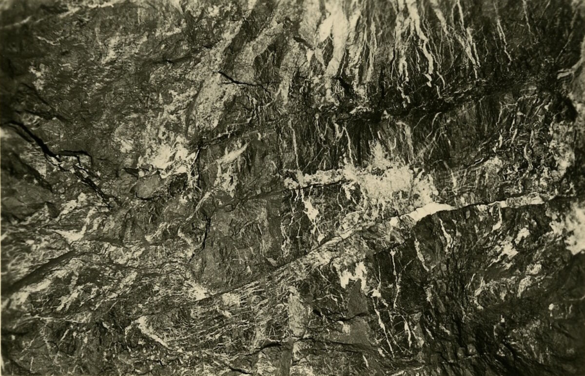 EBA 2/321.34: Gonzen, Bergwerksaufnahmen unter Tage