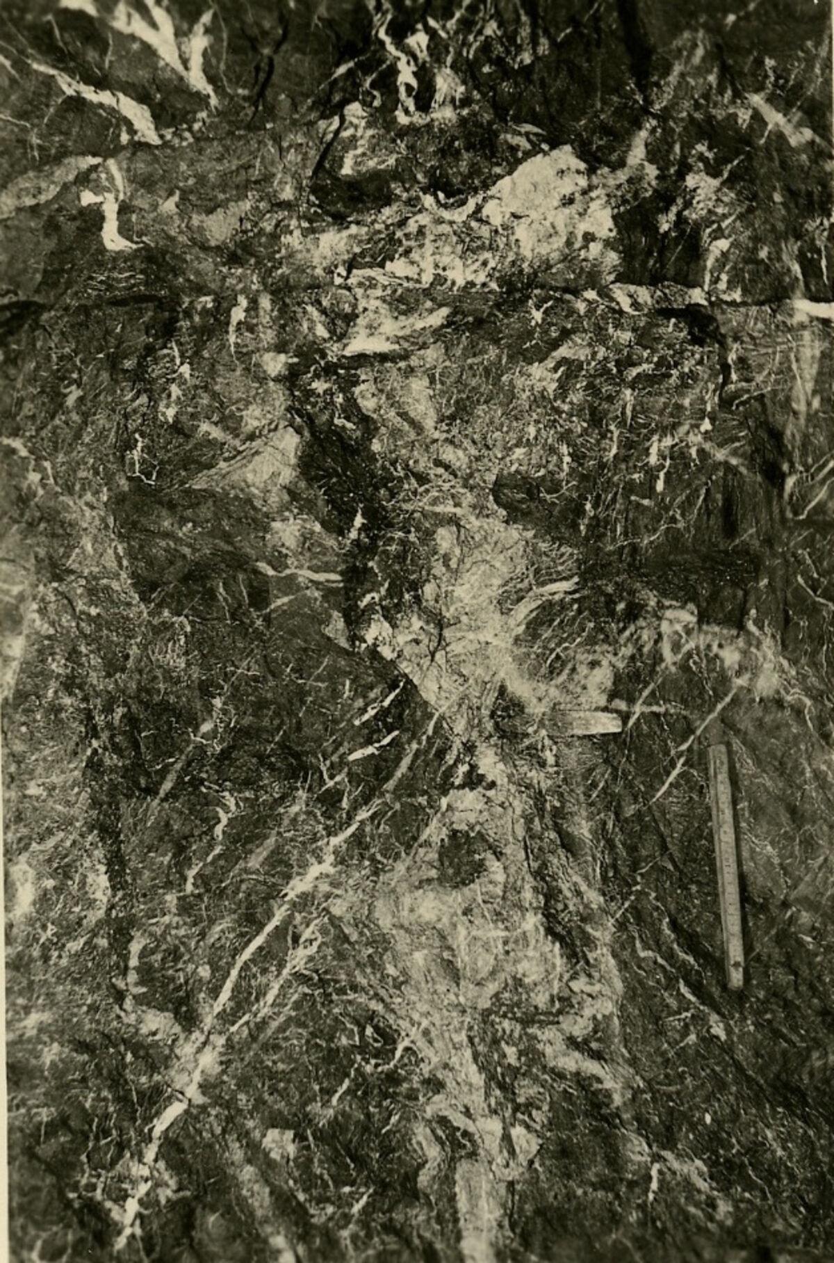 EBA 2/321.36: Gonzen, Bergwerksaufnahmen unter Tage
