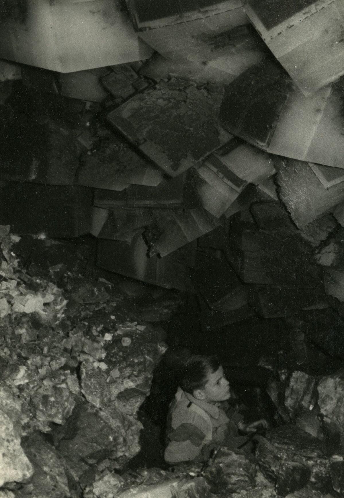 EBA 2/321.39: Gonzen, mine photos underground