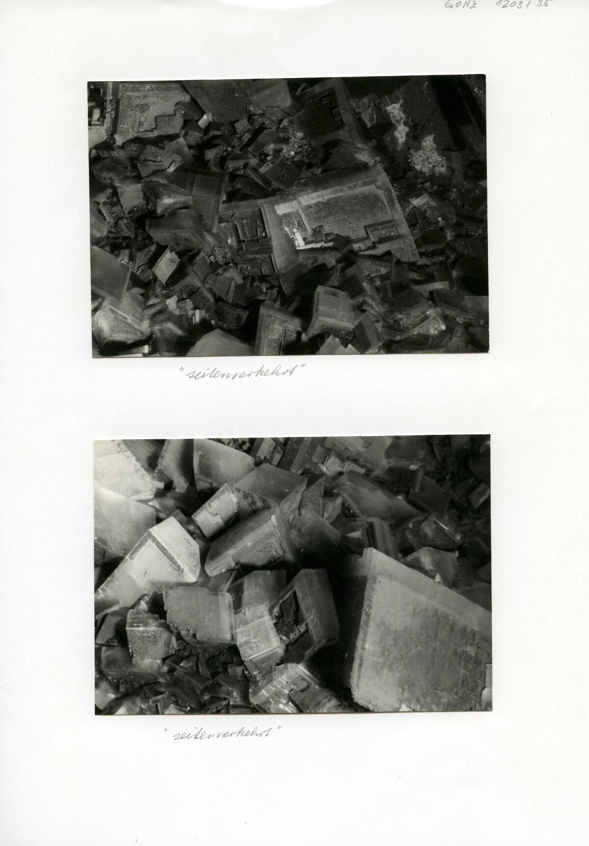 EBA 2/321.40: Gonzen, mine photos underground